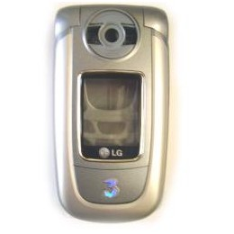 COMPLETE HOUSING LG U8380 SILVER BLUE