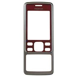 FRONT COVER NOKIA 6300 RED
