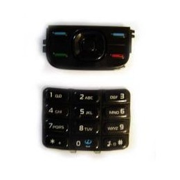 KEYPAD NOKIA 5300, 5200 BLACK ORIGINAL