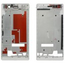 FRONT COVER HUAWEI P7 COLORE BIANCO