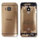 COVER BATTERIA HTC ONE M9 COLORE ORO GOLD