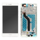 DISPLAY HUAWEI ASCEND P9 LITE CON TOUCH SCREEN E FRAME ORIGINALE COLORE BIANCO