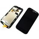 DISPLAY HTC ONE SV CON TOUCH SCREEN + FRAME ORIGINALE COLORE NERO