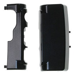 TOP COVER AND BOTTOM COVER NOKIA N76 BLACK