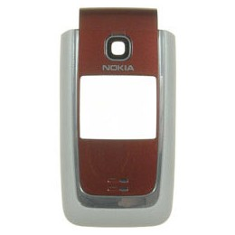 FRONT COVER NOKIA 6125 ROSSO