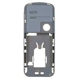 MIDDLE HOUSING NOKIA 6070 SILVER