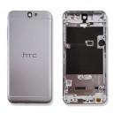 COVER BATTERIA HTC ONE A9 COLORE SILVER