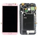 DISPLAY SAMSUNG GT-N7100 GALAXY NOTE 2 COMPLETE OF ORIGINAL RED TOUCH SCREEN