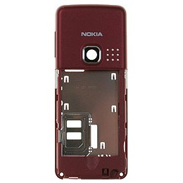 MIDDLE NOKIA 6300 RED