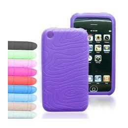 SILICON CASE IPHONE 3G DARK GREY