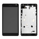 DISPLAY MICROSOFT LUMIA 535 CON TOUCH SCREEN E FRAME COLORE NERO versione  CT2C1607FPC