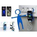 SILICONE SUPPORT FOR MOBILE PHONE COLOR BLUE