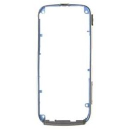 MIDDLE HOUSING NOKIA 5800 BLUE (THE PART WITH SIDE BOTTON)