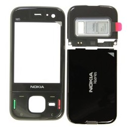 HOUSING COMPLETE ORIGINAL NOKIA N85 BLACK (FRONT COVER+ BATTERY COVER + CAMERA COVER)