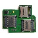 PCB LETTORE SIM1 SIM2 MEMORY CARD ALCATEL ONE TOUCH OT-5038D POP D5