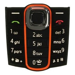 KEYPAD NOKIA 2600c BLACK ORIGINALE