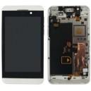 DISPLAY BLACKBERRRY Z10 COMPLETO DI FRAME BIANCO VERSIONE 3G