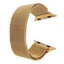 CINTURINO IN METALLO APPLE WATCH CASSA 42MM SERIE 1 ORO