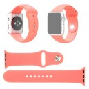 CINTURINO IN SILICONE APPLE WATCH CASSA 42MM SERIE 1 ROSA