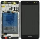 DISPLAY CON TOUCH SCREEN E FRAME HUAWEI NOVA YOUNG SERVICE PACK COLORE NERO