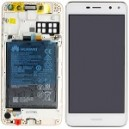 DISPLAY CON TOUCH SCREEN E FRAME HUAWEI NOVA YOUNG SERVICE PACK COLORE BIANCO