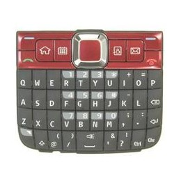 KEYPAD NOKIA E63 RED