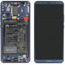 DISPLAY CON TOUCH SCREEN E FRAME HUAWEI MATE 10 PRO SERVICE PACK COLORE BLU