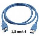 Prolunga USB 2.0 da 1,8MT AM/AF