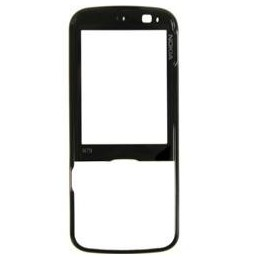 FRONT COVER NOKIA N79 BLACK