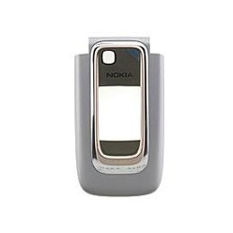 FRONT COVER NOKIA 6131 SILVER WHITE