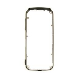 MIDDLE HOUSING NOKIA 5800 BLACK (THE PART WITH SIDE BOTTON)