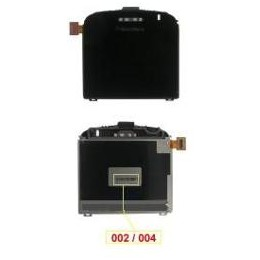 LCD BLACKBERRY 9000 CODE 002-004 WITH BLACK LENS