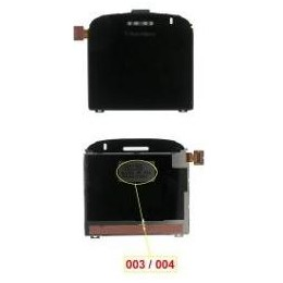 LCD BLACKBERRY 9000 CODE 003-004 BLACK LENS