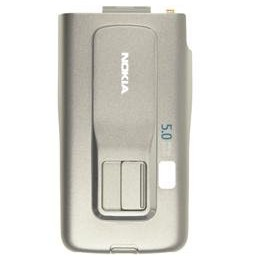 BATTERY COVER NOKIA 6260s BURN SILVER