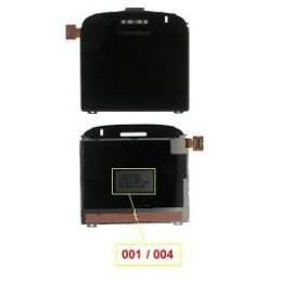 LCD BLACKBERRY 9000 WITH CODE 001-004 BLACK ORIGINAL