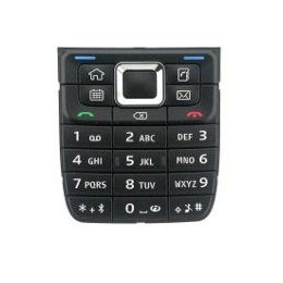 KEYPAD NOKIA E51 BLACK ORIGINAL