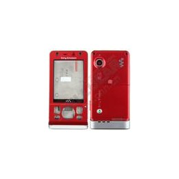 HOUSING COMPLETE SONYERICSSON W910 ORIGINAL FULL SET RED
