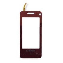 TOUCH SCREEN SAMSUNG F490 RED