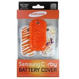 BATTERY COVER SAMSUNG GT-S3650 FESTIVAL SET 3 PIECES BLISTER