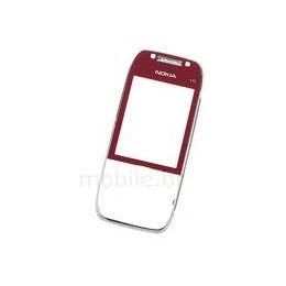 FRONT COVER NOKIA E75 RED ORIGINAL