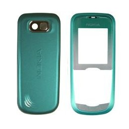 HOUSING COMPLETE ORIGINAL NOKIA 2600c GREEN (FRONT + BATTERY COVER)