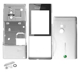 HOUSING COMPLETE ORIGINAL SONYERICSSON X1 SILVER