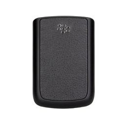 BATTERY COVER BLACKBERRY 9700 LEATHER BLACK