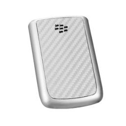 BATTERY COVER BLACKBERRY 9700 CARBON SILVER
