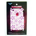 SKIN STICKERS PER APPLE IPHONE 3G (Mod. n: A12), 3GS (Mod. n: A13) (1 SIDE) VIOLET FLOWER