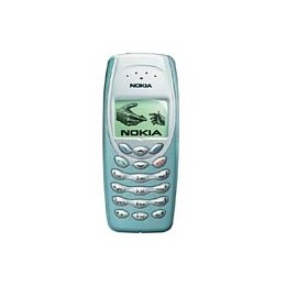FRONT COVER NOKIA 3410 LIGHT GREEN