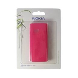 SILICON CASE NOKIA CC-1001 FOR X6 PINK BLISTER
