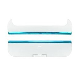 TOP AND BOTTOM COVER NOKIA X6 WHITE-BLUE