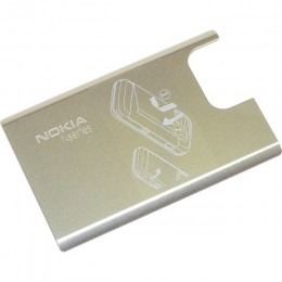 BATTERY COVER NOKIA N97 MINI SILVER