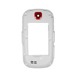 MIDDLE COVER SAMSUNG GT-S3650 WHITE